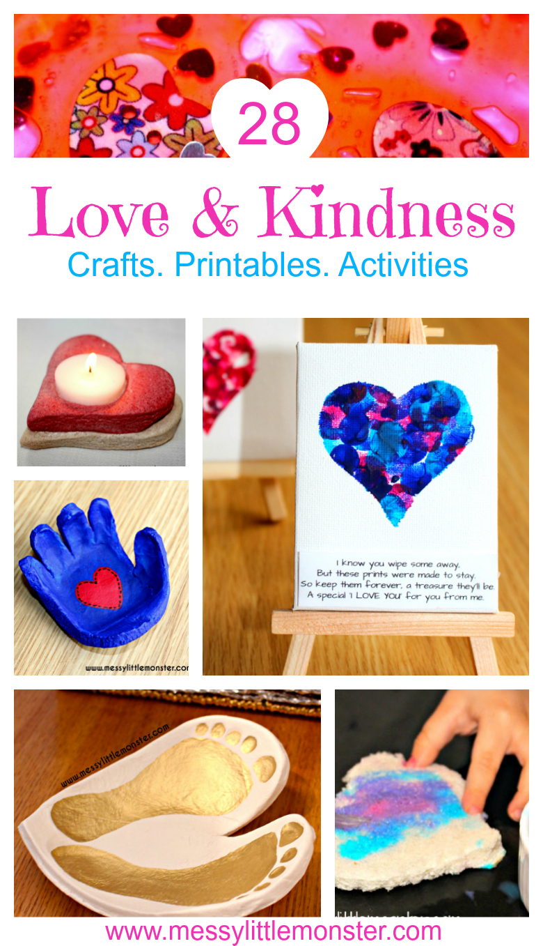 Love & Kindness Activity Calendar - February | ~Valentine's