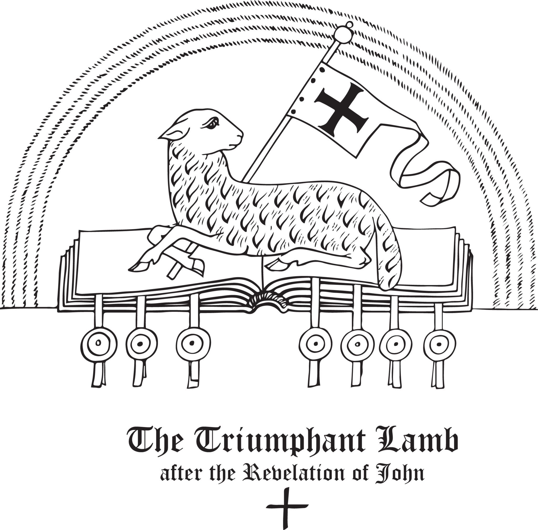 Rudolf Koch Christian Symbol 138 The Triumphant Lamb Symbols