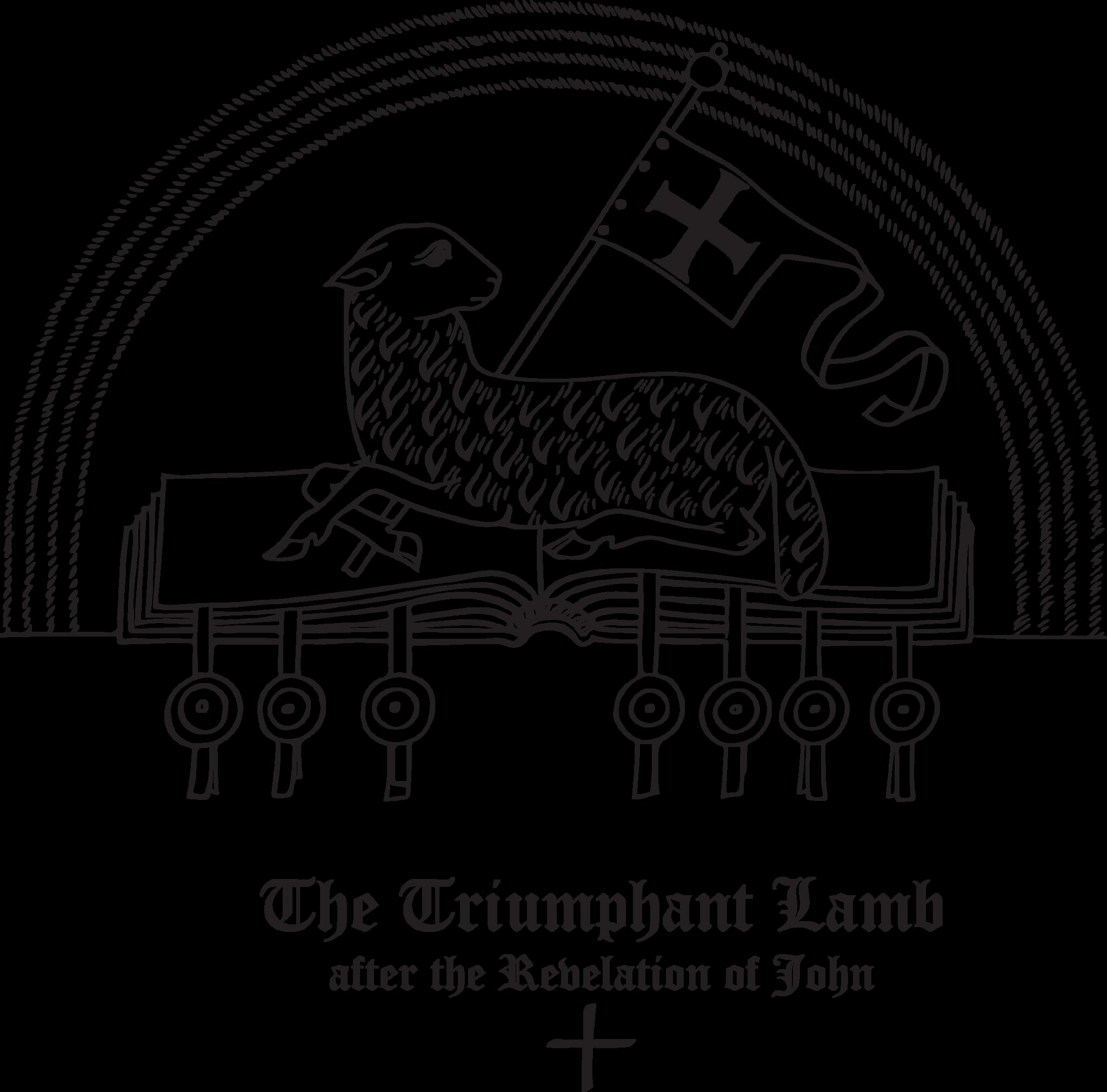 Rudolf Koch Christian Symbol 138 The Triumphant Lamb M