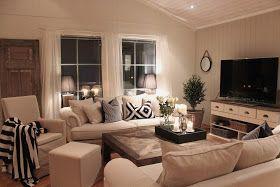 Lindevegen: Ny sofa ENDELIG på plass :)