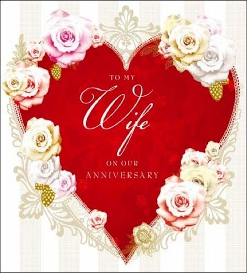 Wedding Anniversary Quotes For Wife: Wedding Anniversary Cards