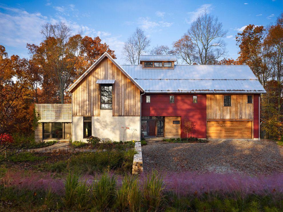 pole barn house plans and prices Exterior Farmhouse with barn cupola