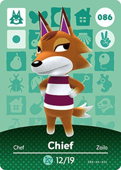 Nintendo Animal Crossing Happy Home Design Chief Amiibo