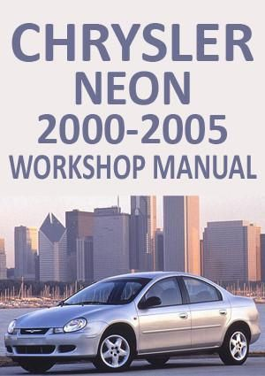 chrysler neon 2000 2005 workshop manual cars pinterest neon rh pinterest com chrysler neon repair manual free download chrysler neon repair manual free download
