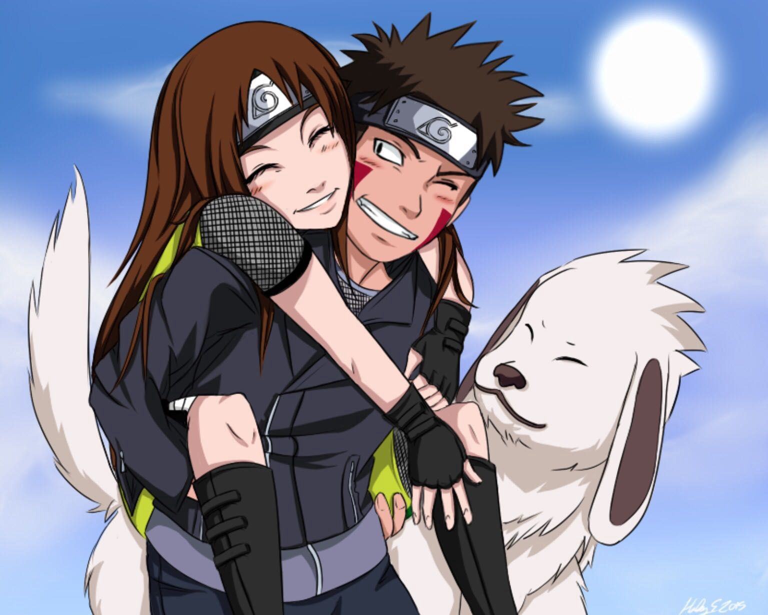 You're in highschool Kiba has always hated you You have