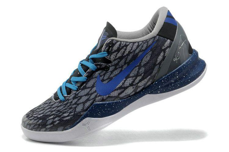Nike Kobe 8 Year of the Snake Grey Photo Blue Dark Grey Mamba  405445bdd3