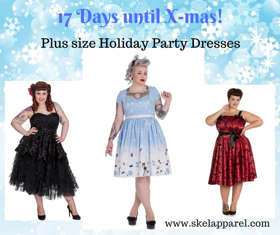 17 days until x-mas! we have tons of lovely holiday party dresses