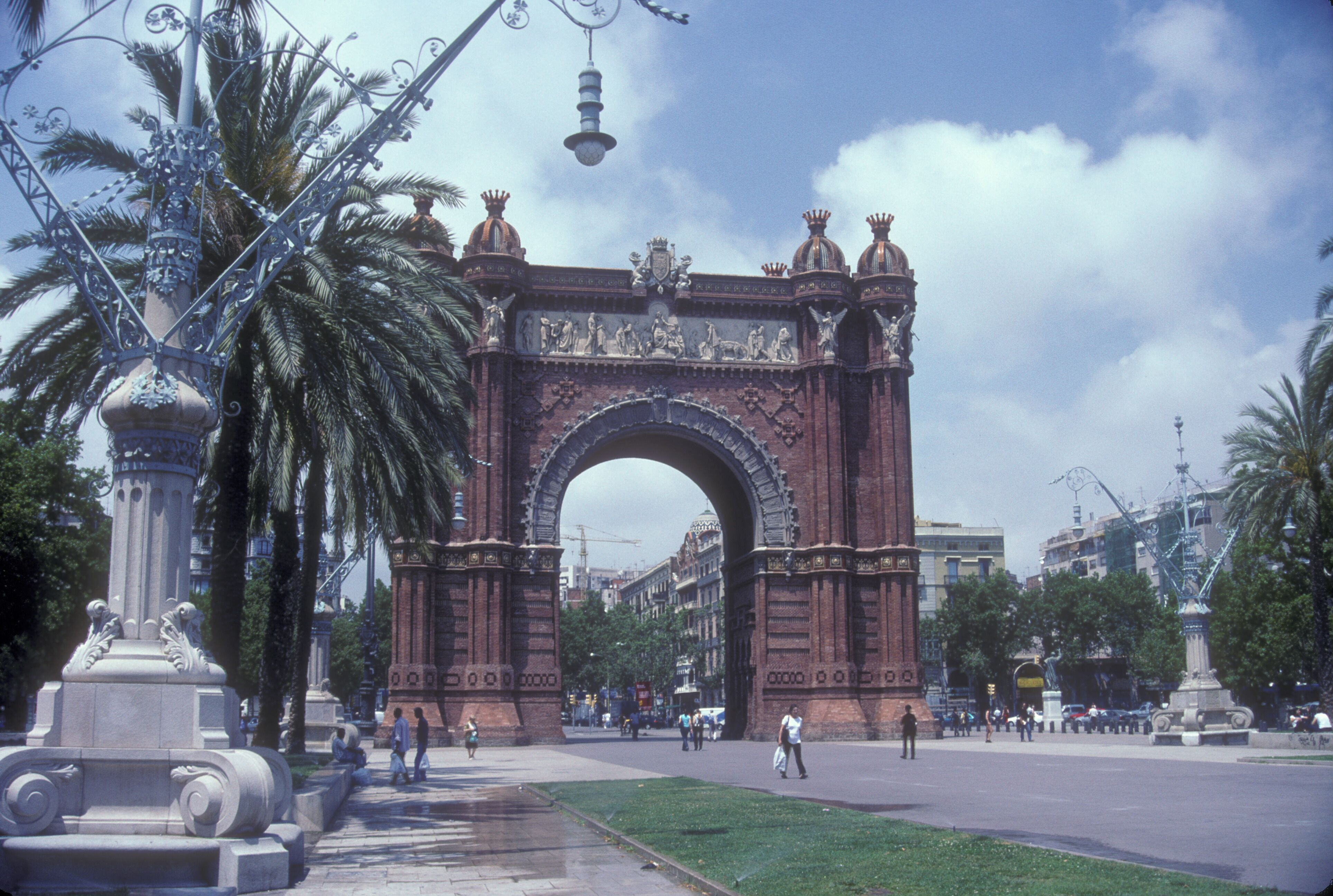 Arch in Barcelona, Spain