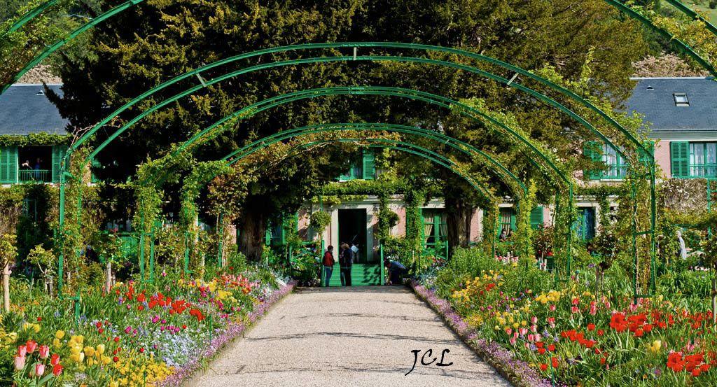 La casa y el jardín de Claude Monet en Giverny, sus flores, su ...