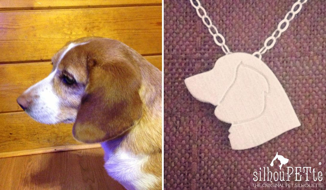 Beagle Jewelry By Silhoupette Great Gift For Mother S Day