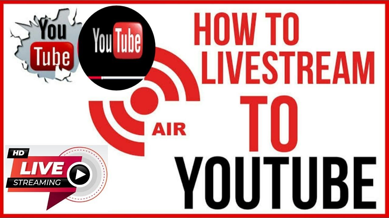 How To Live Stream On Youtube Without 1000 Subscribers How To Live Stream On Youtube Youtube Streaming Youtube Videos