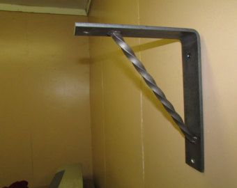 Handmade Heavy Duty Metal Bracket Corbel For Book Shelf, Granite, Marble Or  Countertop Support Hand Forged Wrought Iron