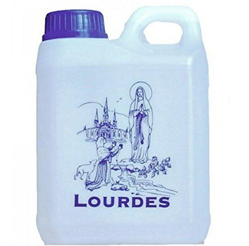 Lourdes Holy Water in 1 Liter Container 0264 Gallons AUTHENTIC from LOURDES *** You can find out more details at the link of the image.