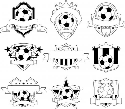 Soccer Logo Emblems Kidspressmagazine Com Soccer Logo Soccer Crafts Emblem Logo