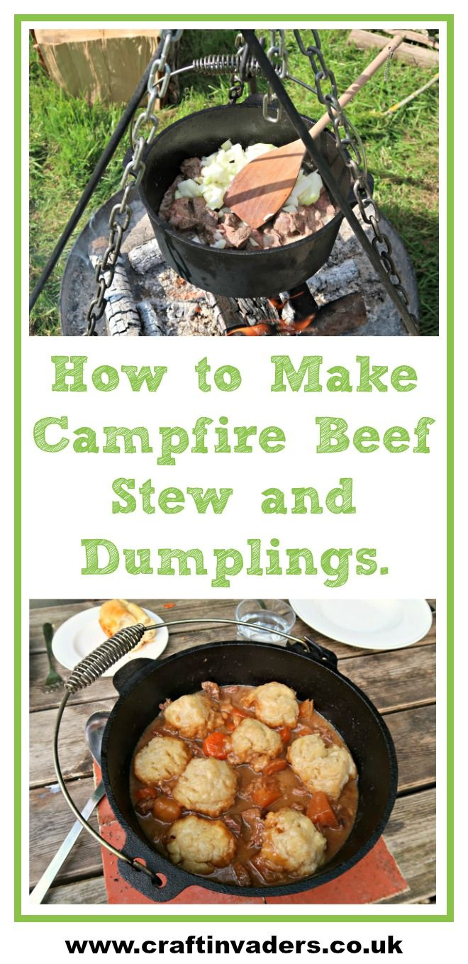 I believe teaching kids to cook is an essential part of ensuring they develop healthy nutritional habits.Here they make Campfire Beef Stew and Dumplings in a #DutchOven #CampfireCooking