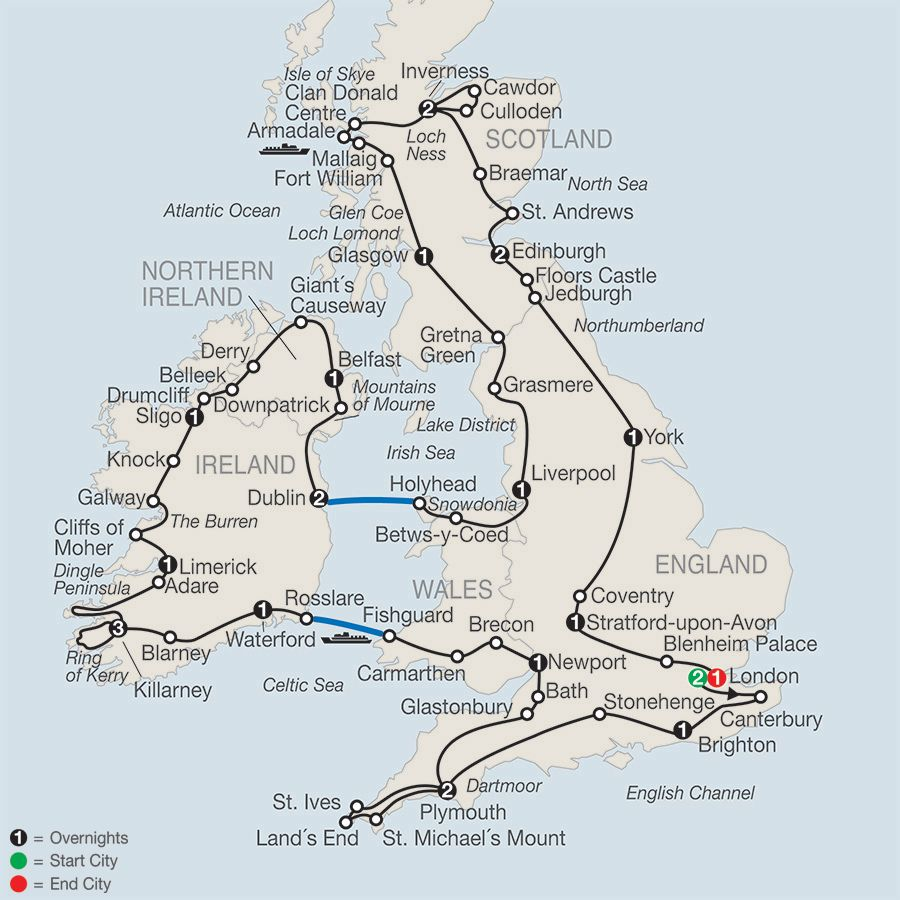 Map Of England And Ireland And Scotland And Wales.Britain Ireland In Depth In 2019 Ireland Ireland Travel Road