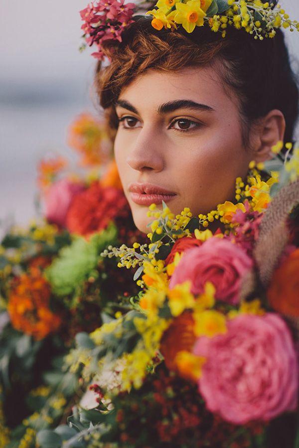 4d1c5dfdee Bohemian Floral Dream Wedding Inspiration