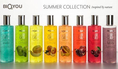 Sköna dushgel utan SLES och SLS! Underbara fruktiga dofter.