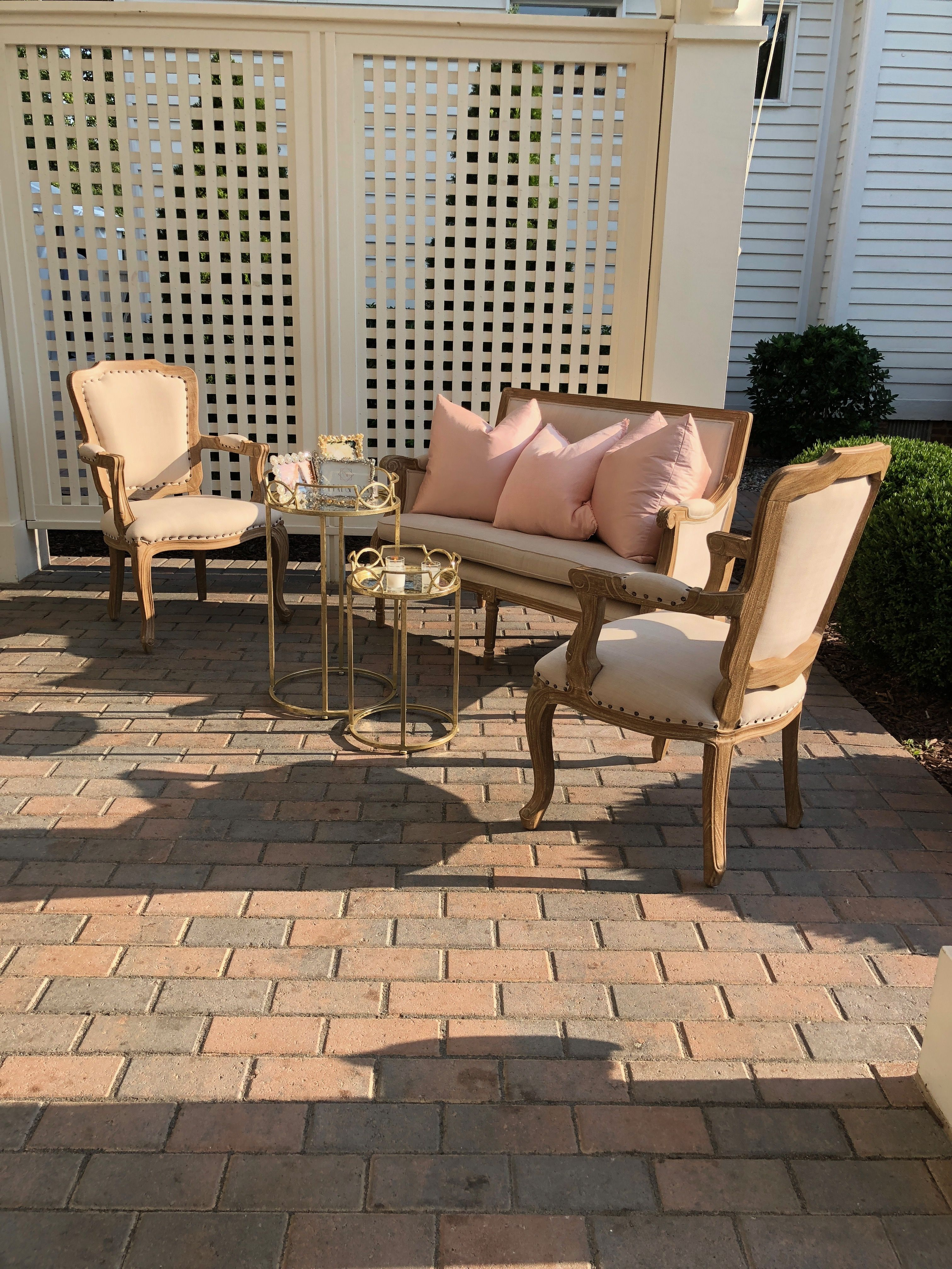 French Country Inspired Lounges Furniture Rental Furniture Chic Furniture