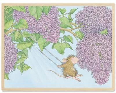 House Mouse Rubber Stamps Scent Fully Delightful Lilacs Stamp | eBay