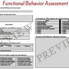 Special Education Functional Behavior Assessment Behavior Support