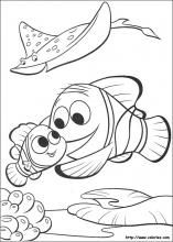 Finding Nemo coloring pages on Coloring-Book.info | Art for kids ...