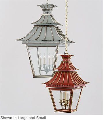 Pagoda light various sizes and finishes available charles edwards lantern lightingoutdoor