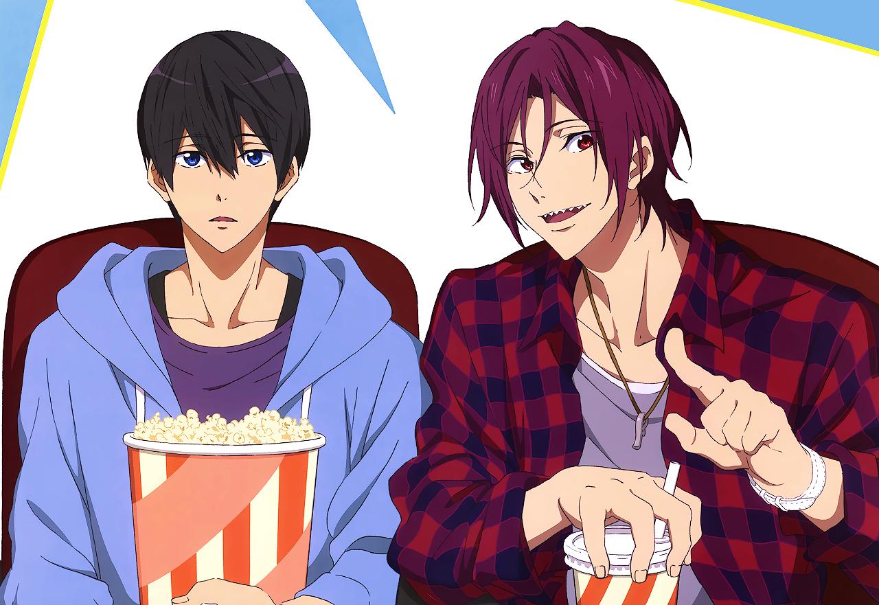 °˖ (ㅎ.ㅎ)♥︎(σノ、σ) ˖° Splash free, Free iwatobi, Free anime