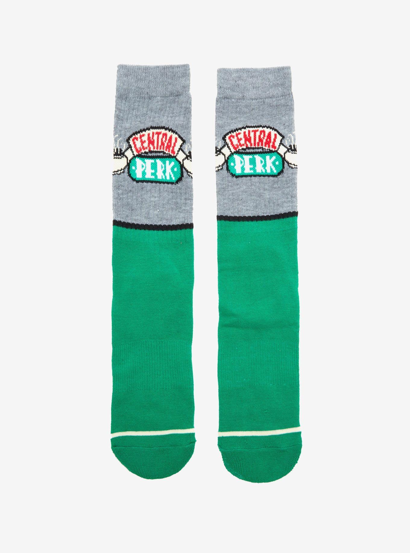 Friends Central Perk Color Block Crew Socks in 2020