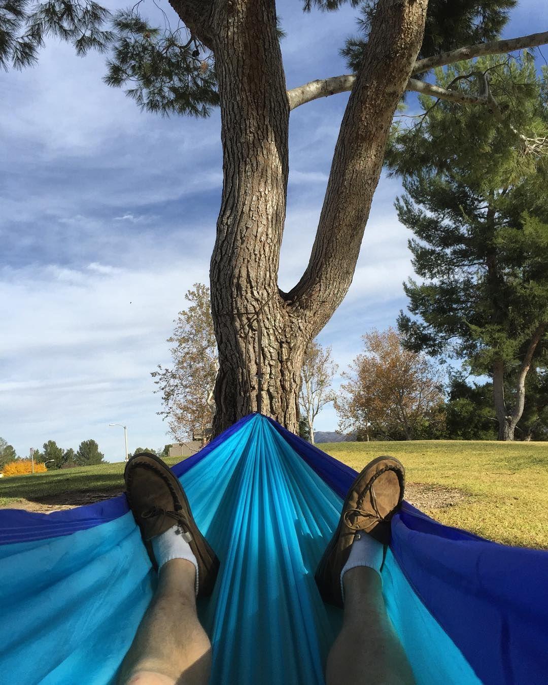 Hanging out. #hammocklife by @trevor_fenner