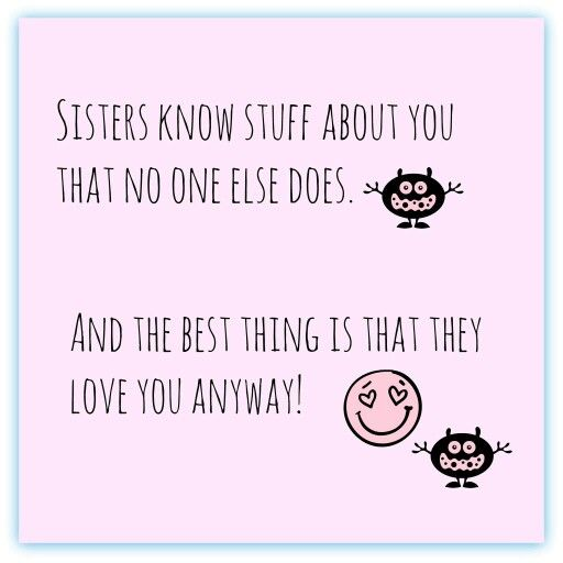 Pin By Megha Manchanda On Sister S Sister Quotes Sister Quotes Funny Love My Sister