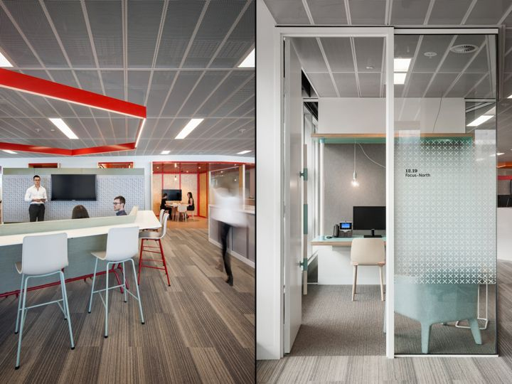 Peoples Choice Credit Union Offices By Woods Bagot Adelaide Australia Retail Design Blog