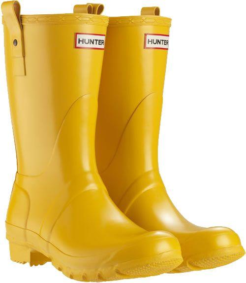 Short Wellies UK. Yellow Rain BootsYellow WelliesHunter ...