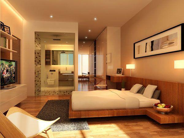 Bedroom Modern Design Love The Bed Built In End Tables  Dream Home  Pinterest  Bedrooms