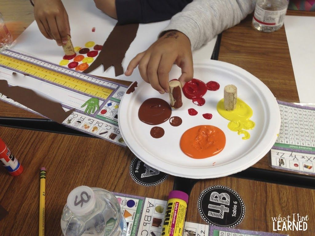 Mix Art Amp Math With A Fall Leaves Craft