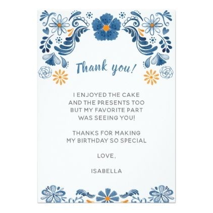 Fiesta Thank You Cards Floral Thank You Notes Zazzle Com Diy Note Cards Thank You Note Cards Your Cards