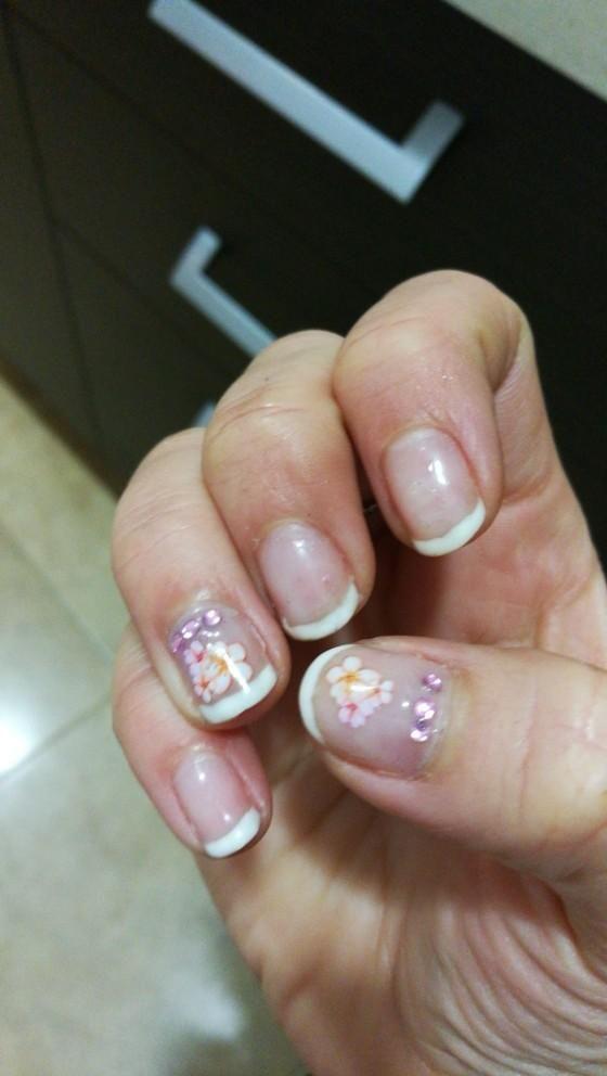 Spring Floral Sakura Daisy Lavender Floral Nail Colors Sticker ...