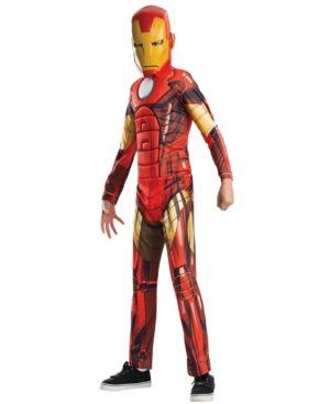 Avengers Assemble Deluxe Iron Man Boys Costume Red Iron Man Halloween Costume Iron Man Kids Ironman Costume