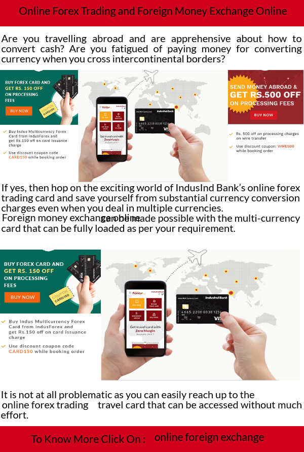 Foreign Money Exchange Online Can Be Made Possible With The Multi Currency Card That