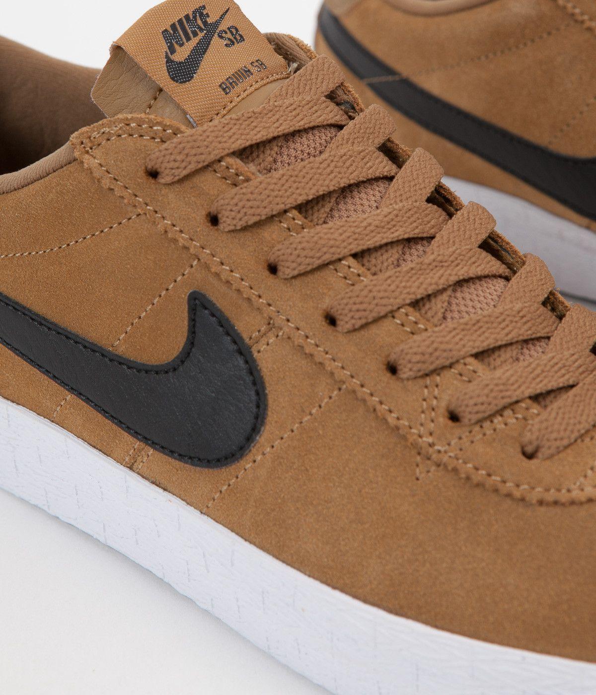 c944d90f4594 ... Nike SB Bruin Premium SE Shoes - Golden Beige Black - White - Black ...