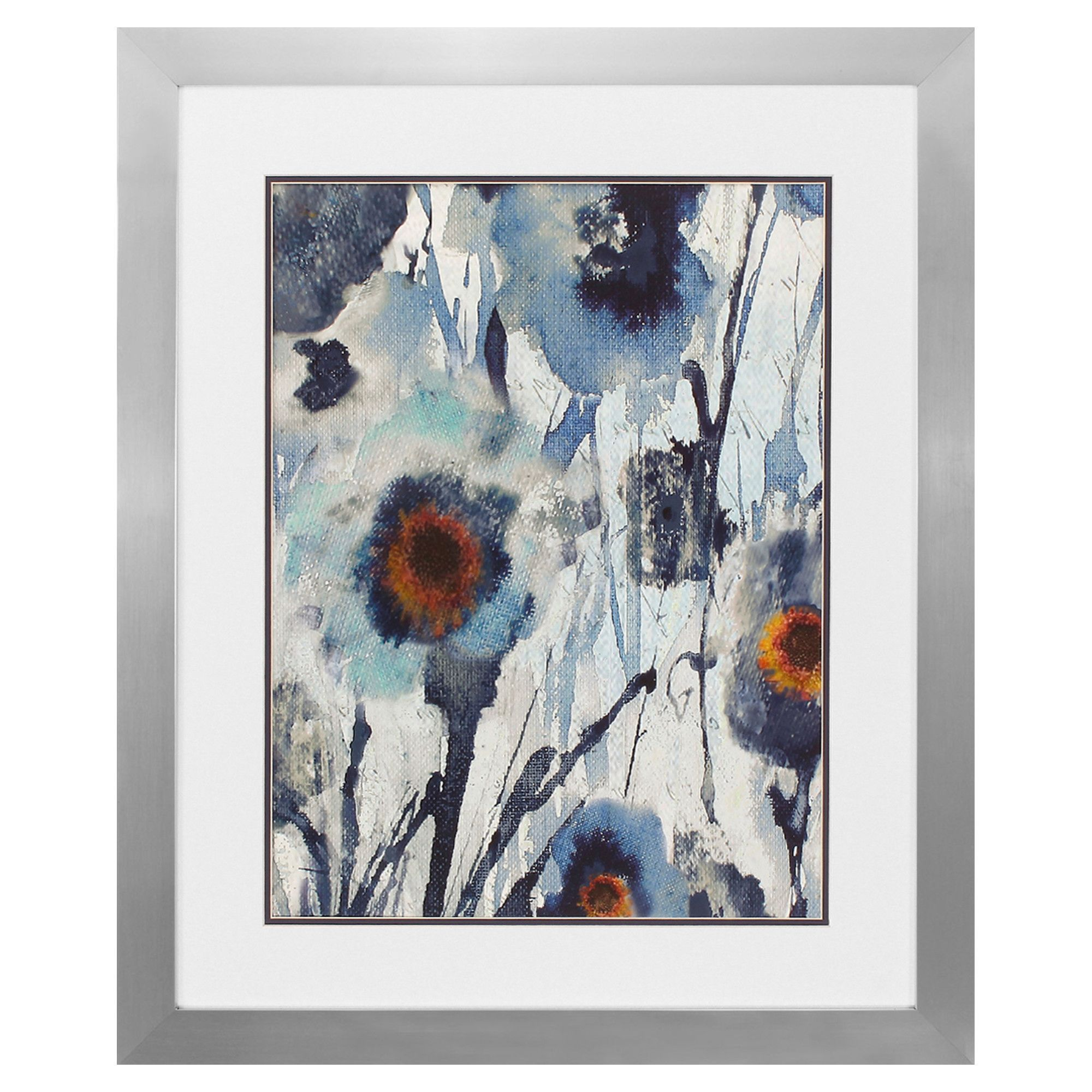 Forget Me Not II Framed Painting Print | Products | Pinterest ...