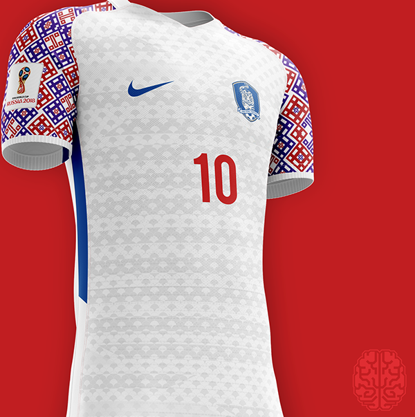 Indumentaria Deportiva · FIFA World Cup 2018 Kits Redesigned on Behance  Uniformes De Futbol 7a382e14904f0