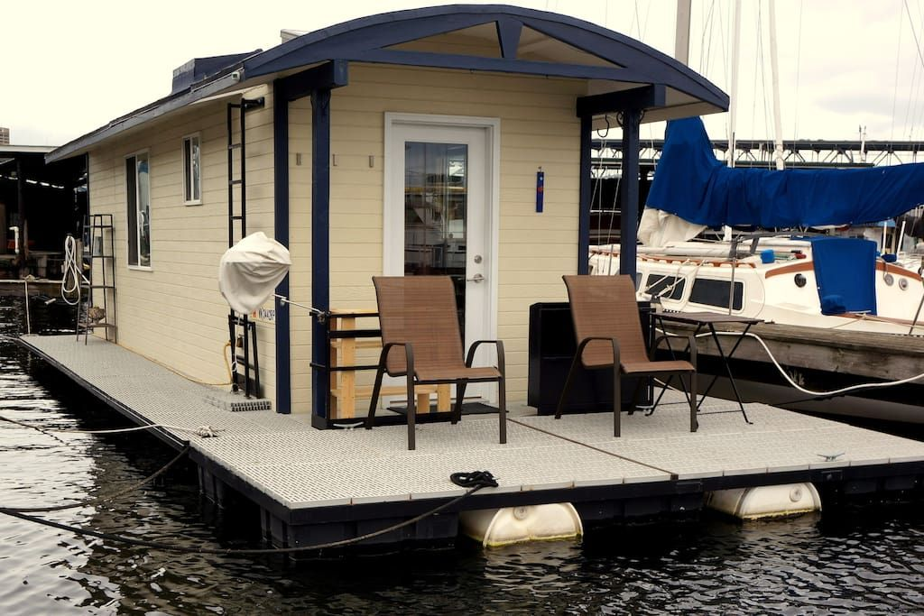 Check Out This Awesome Listing On Airbnb Modern Houseboat