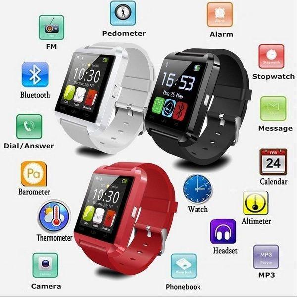 Bluetooth smart watch U8 Wrist Watch U smartWatch for For