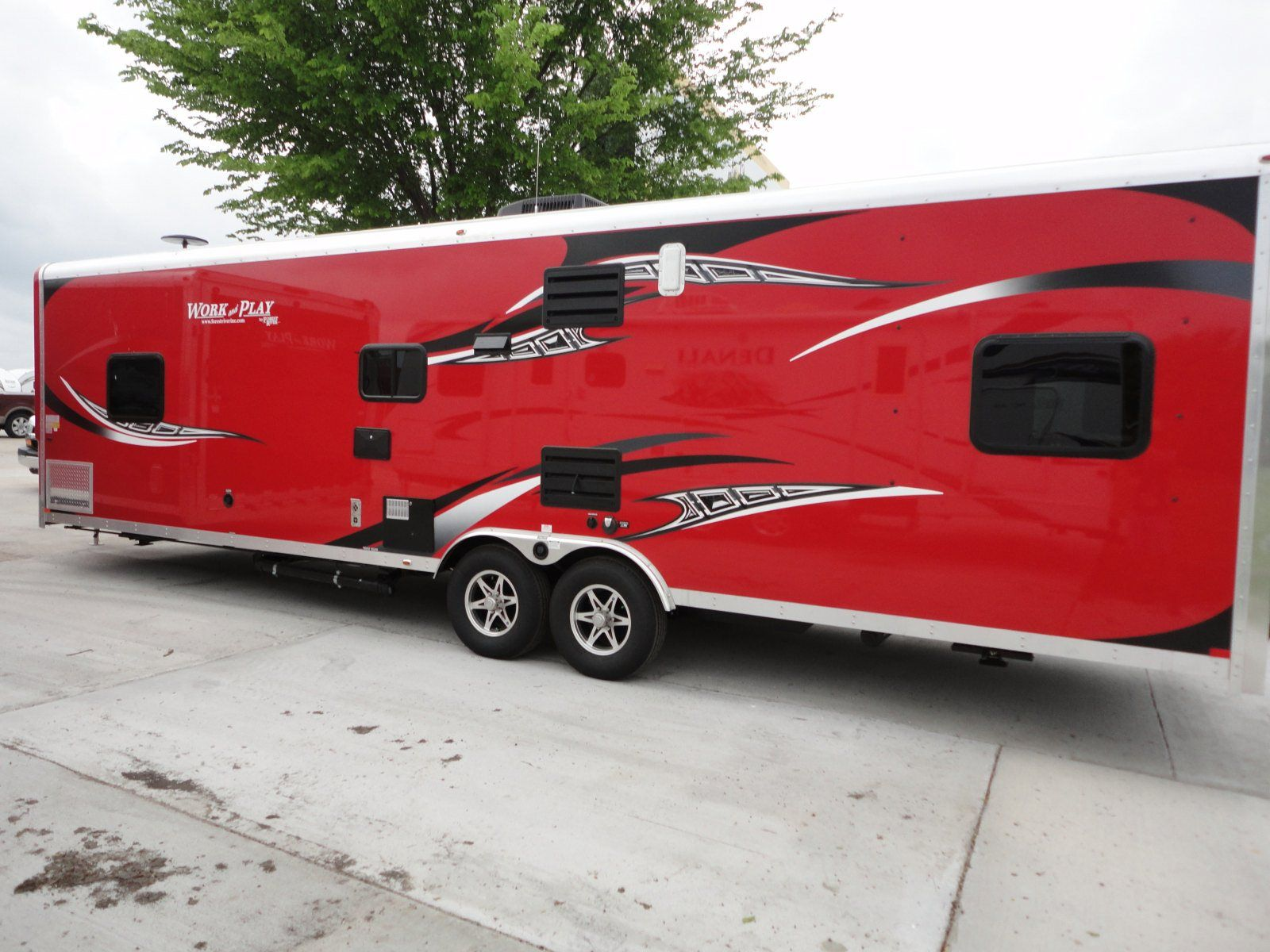 30ft Bumper Pull 2014 Work And Play RED 30wrs