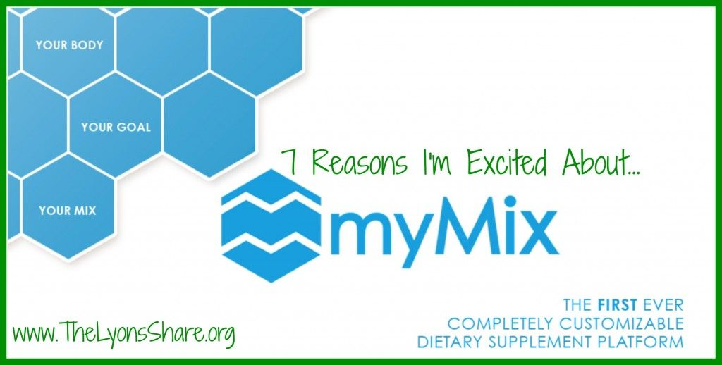Check us out on http://www.thelyonsshare.org/2014/03/30/7-reasons-im-excited-about-mymix-nutrition/ … Thank you to the wonderful Megan Lyons for the in depth analysis.