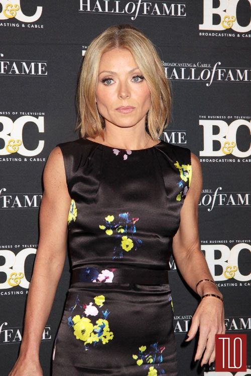 Kelly Ripa in Erdem at the 2013 Broadcasting and Cable Awards | Tom ...