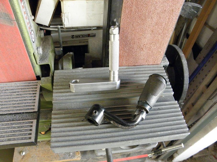 Drill Press Crank Handle by Captainleeward Drill Press