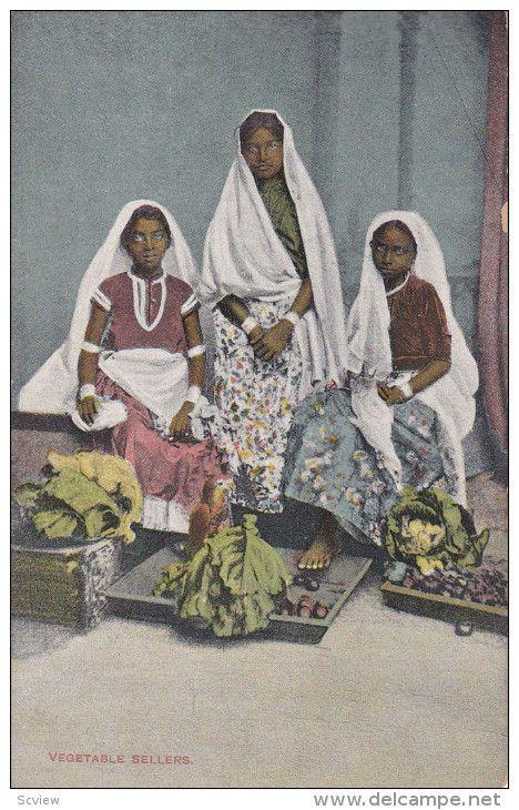 Vegetable Sellers , Port of Spain , Trinidad , 00-10s