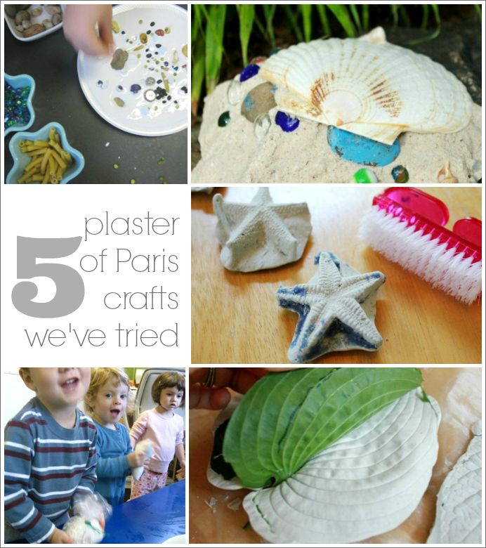 10 fun plaster of paris crafts to try with your kids for Paris themed crafts for kids